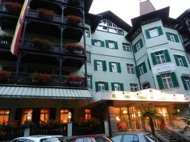 il nostro hotel il best western hotel gr ner baum